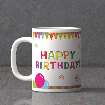 Birthday Celebrations Personalized Mug