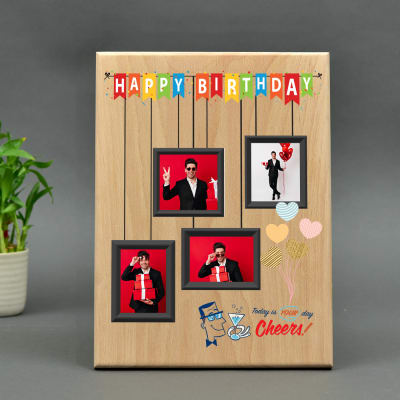 Birthday Special Personalized Wooden Plaque