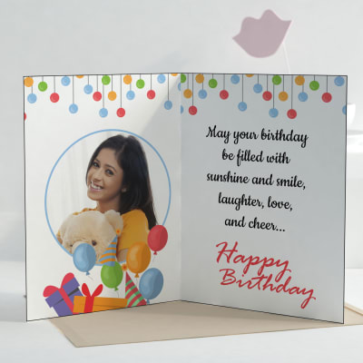 Birthday wishes personalized greeting card giftsend greeting cards birthday wishes personalized greeting card m4hsunfo