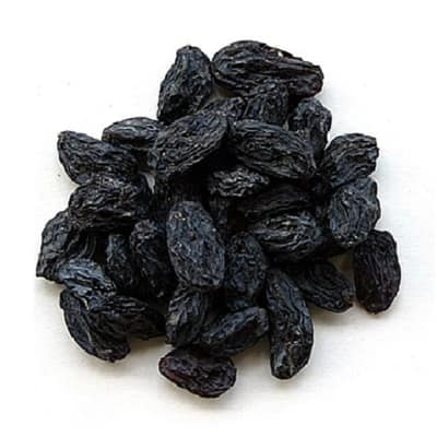 Black Raisins for a Healthy Diet