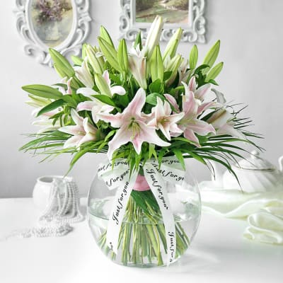 Blissful Lilies