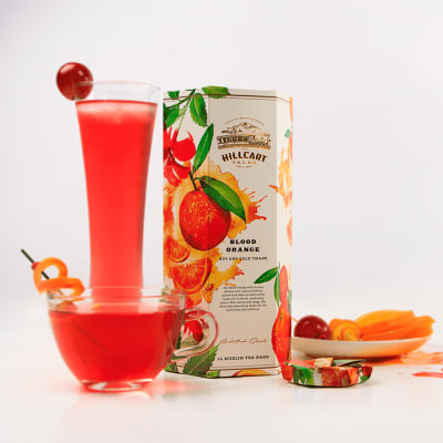 Blood Orange Hibiscus Tea (14 Tea Bags)