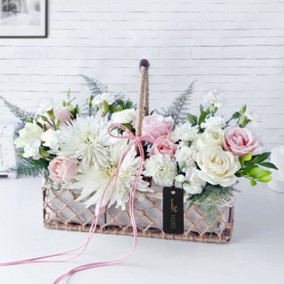 Blooms From My Heart Floral Arrangement