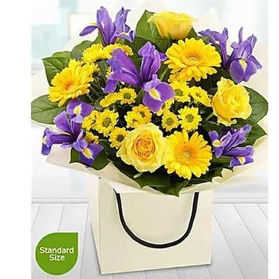 Bold and Beautiful Flower Arrangement
