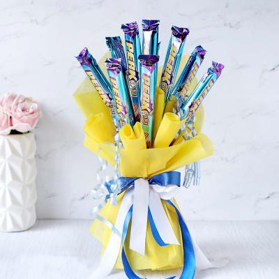Bouquet of 10 Cadbury Perks
