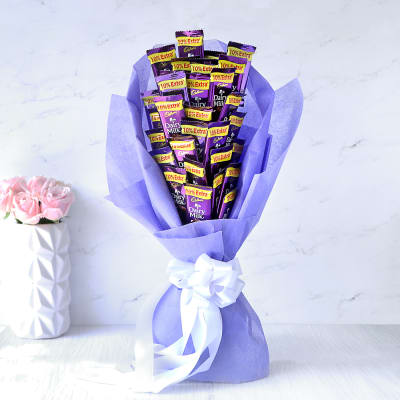 Bouquet of 30 Cadbury Dairy Milk Chocolates