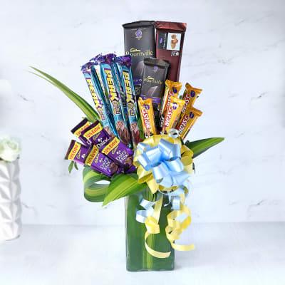 Bouquet of Assorted Cadbury Chocolates