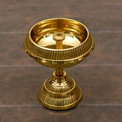 Brass Batti Jyoti Diya 2.5 inches
