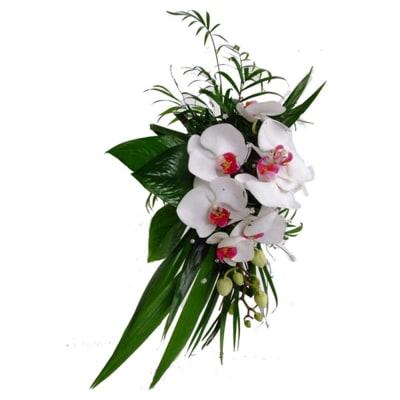 Bridal Elegant Orchid bouquet
