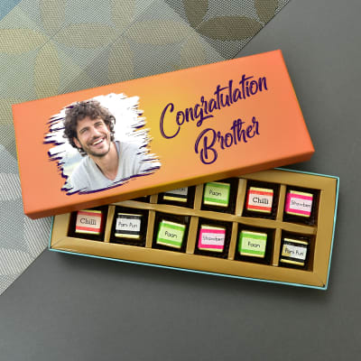 Brother Special Personalized Chocolates