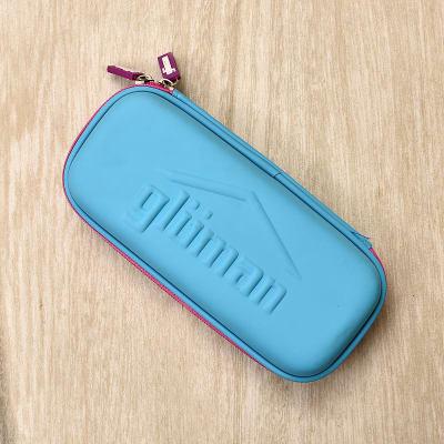 Bumpy Blue Pencil Case