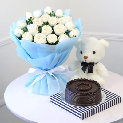 Buy White Flowers Online Order White Color Flowers Get Same Day