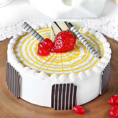Butterscotch Cake (Eggless) (2 Kg)