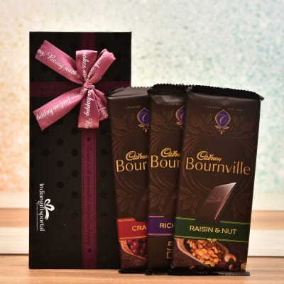 Cadbury Bournville Chocolates In Gift Box