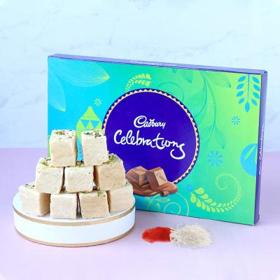 Cadbury Celebrations with Soan Papdi
