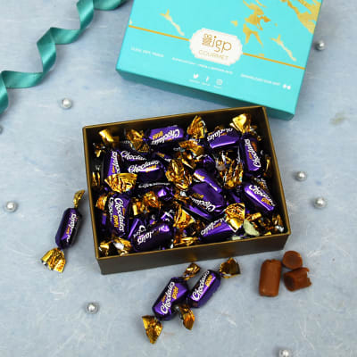 Cadbury Choclairs Gold Toffees in Gift Box