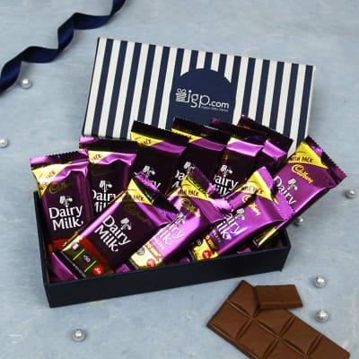 Cadbury Dairy Milk Chocolates in Gift Box