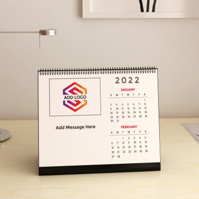 Calendar - Customizable with Logo & Message