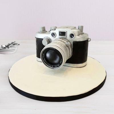 Camera Fondant Cake (3 Kg)