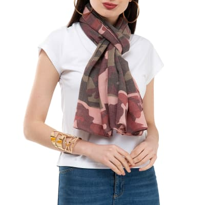 Camouflage Printed Stole