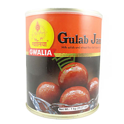 Can of Delicious Gwalia Gulab Jamun