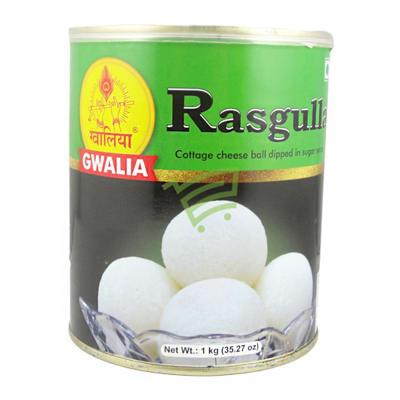 Can of Gwalia Rasgullas