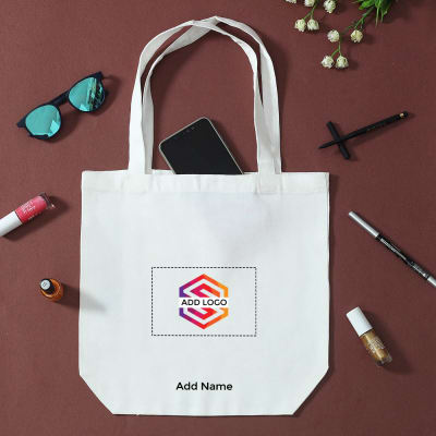 Canvas Bag - Customizable with Logo and Name
