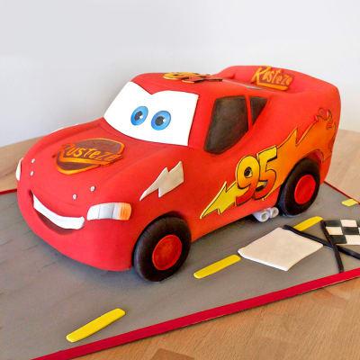 Cars Fondant Cake (3 Kg)