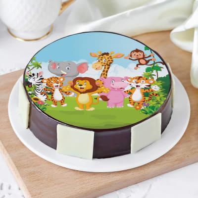Cartoon Cake (1 Kg)