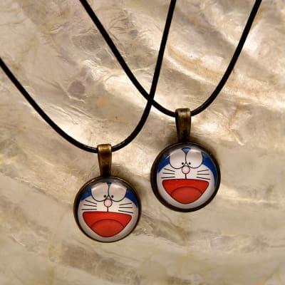 Cartoon Couple Necklace