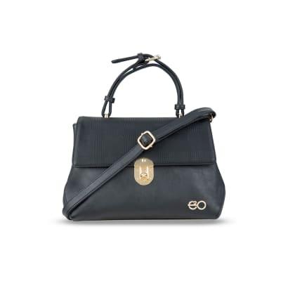 Chic Black Satchel Handbag