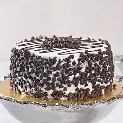 Choco Chips Black Forest Cake (Half Kg)