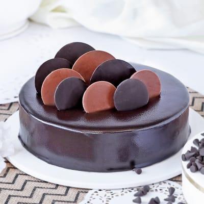 Chocolate Cake (Eggless) (2 Kg)