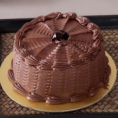 Chocolate Cake (Eggless) with Chocolate Frosting (Half Kg)