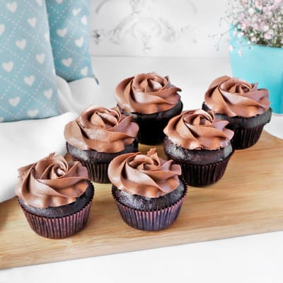 Chocolate Cupcakes (Pack of 6)