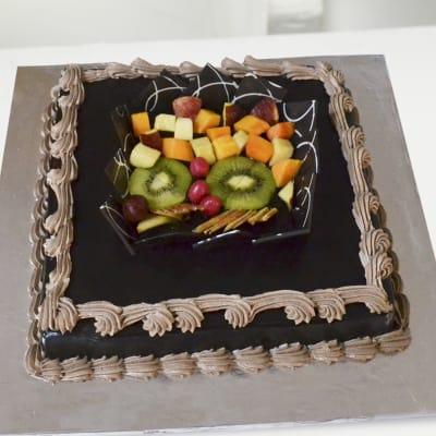 Chocolate Fruit Cake 2 Kg