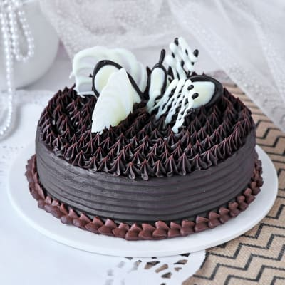 Chocolate Fudge Brownie Cake (Eggless) (Half Kg)