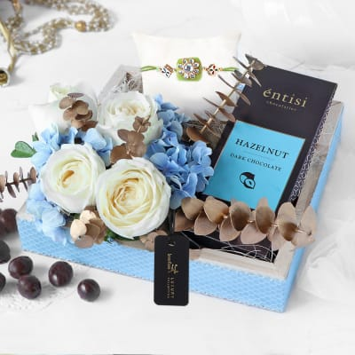 Chocolate Love Rakhi Gift Hamper