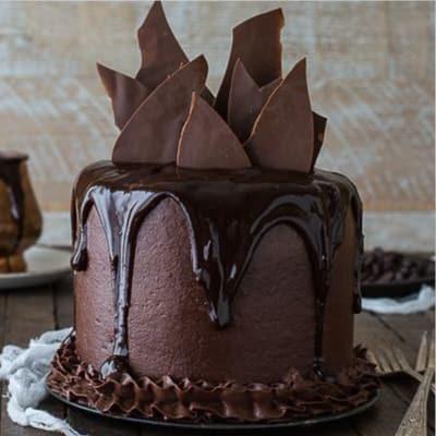 Chocolate Rocky Cake Half Kg
