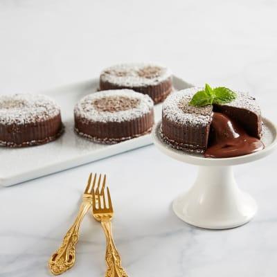 Chocolate Truffle Lava Cakes