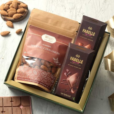 Chocolates with Dry Fruits Hamper