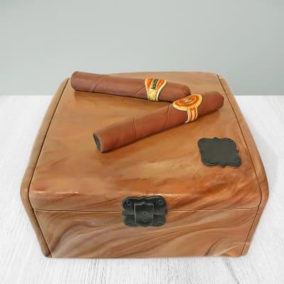 Cigar Box Fondant Cake (4 Kg)