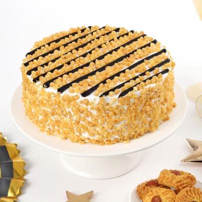 Classic Butterscotch Cake (Half Kg)