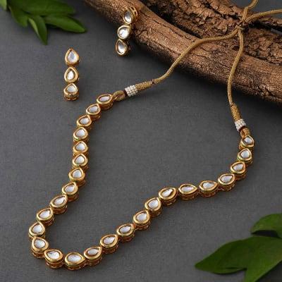 Classic Kundan Necklace Set
