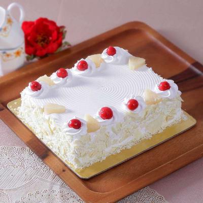 Classic Pineapple Cake Eggless 1 Kg