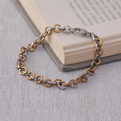 Classy Stainless Steel Chain Bracelet