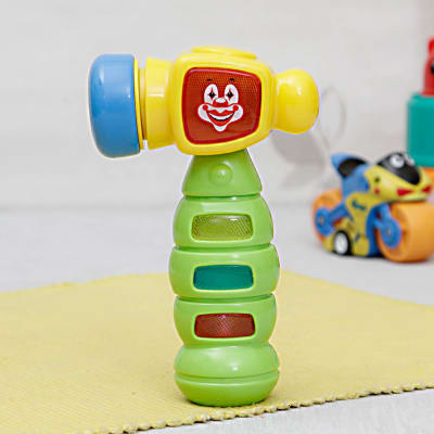 Clown Hammer Rattle