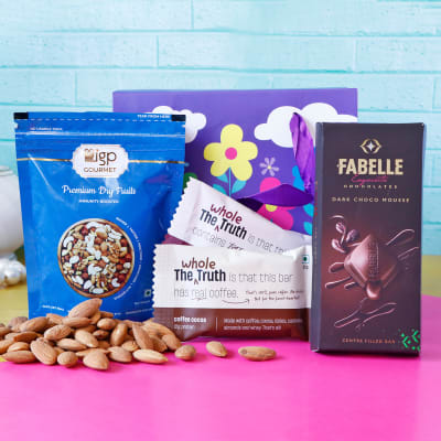 Cocoa Goodness Hamper in Goodie Bag