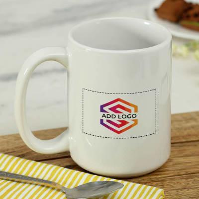 Coffee Mug (350ml) - Customized with Logo And Image