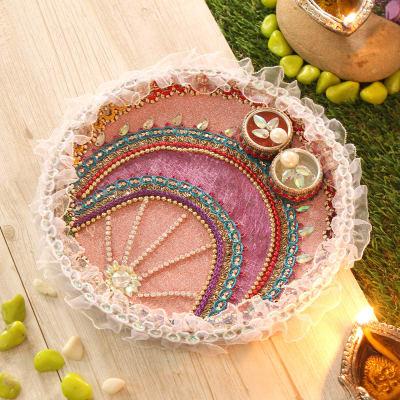 Colorful Tikka Thali